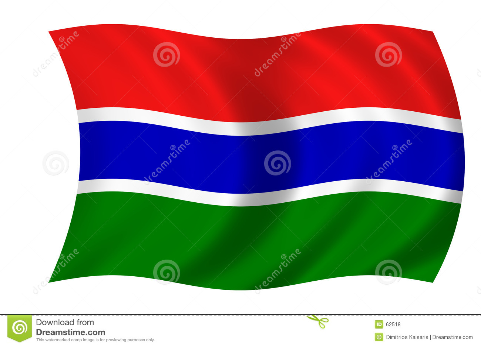 Flagga gambia