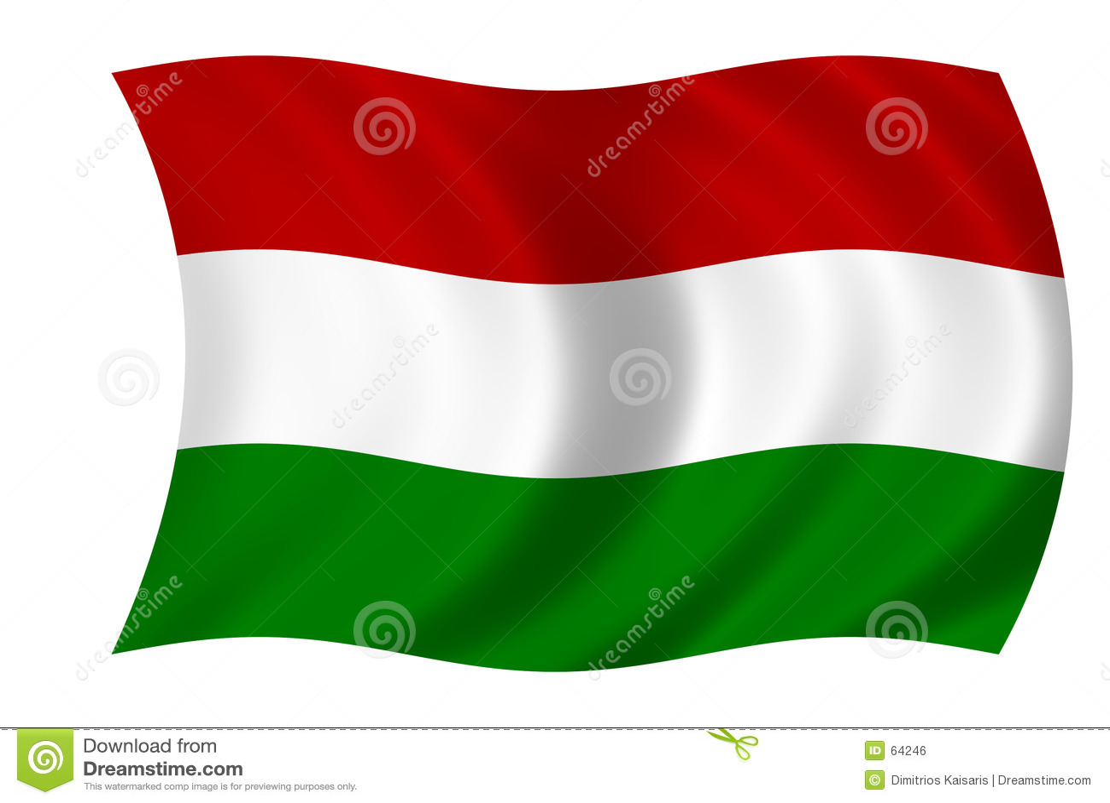 Flagga hungary