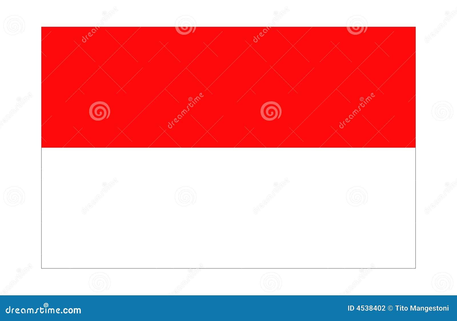 Flagga indonesia monaco