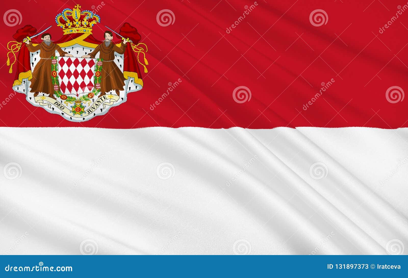 Flagga monaco