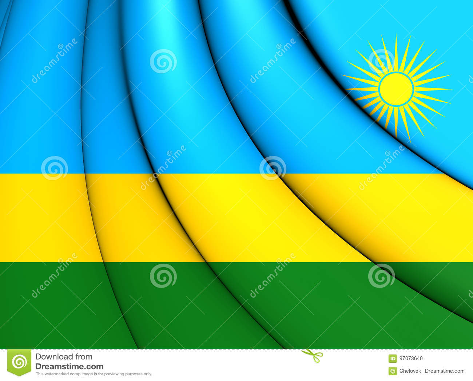 Flagga rwanda