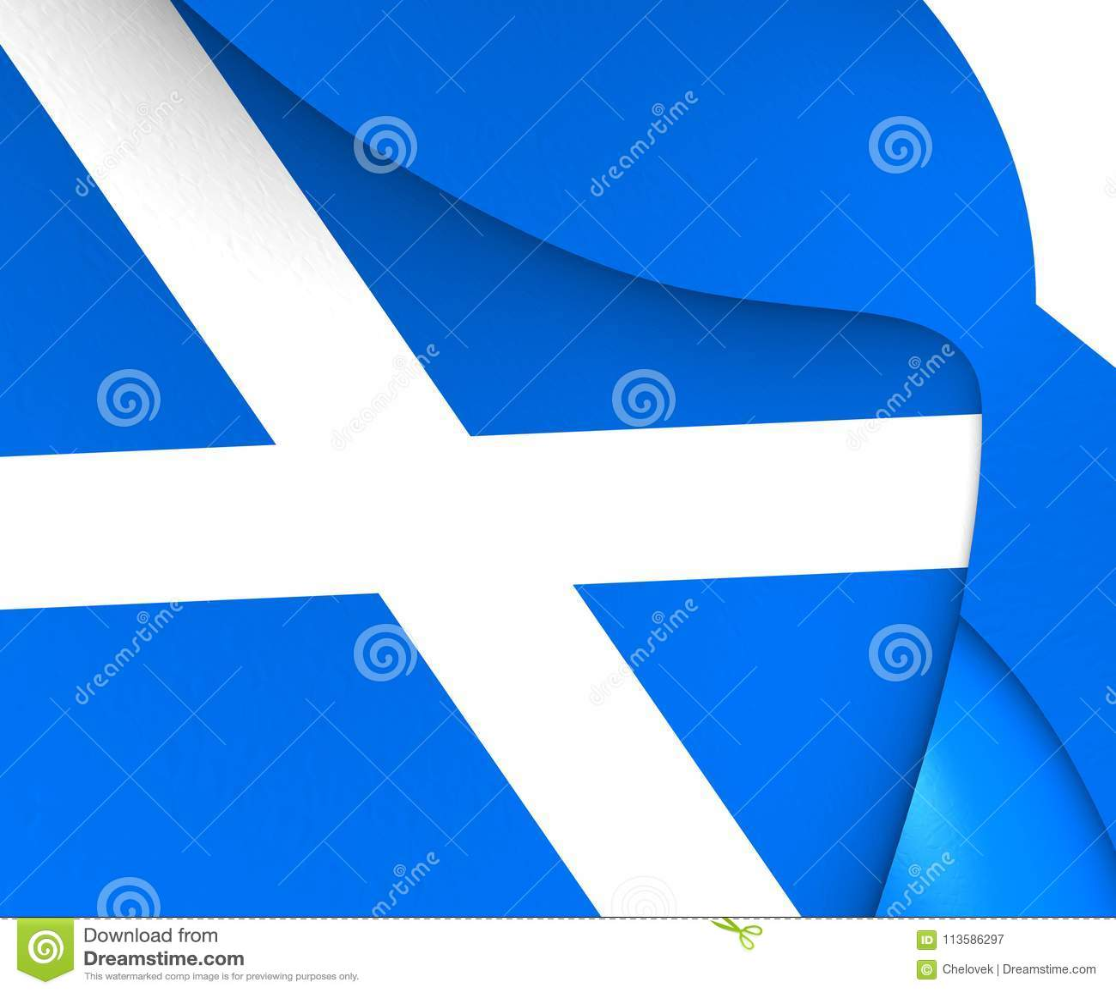 Flagga scotland