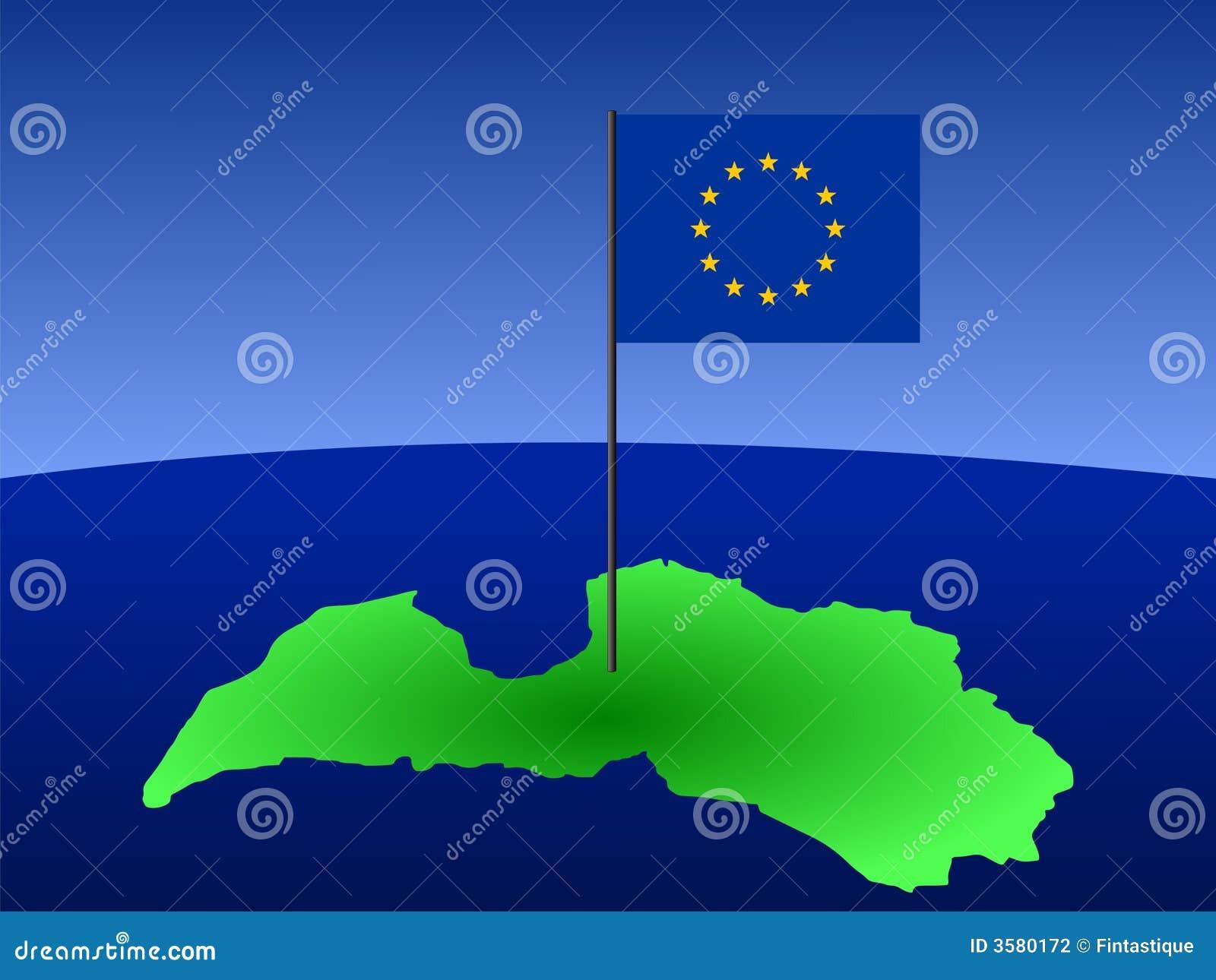 Flaggalatvia översikt