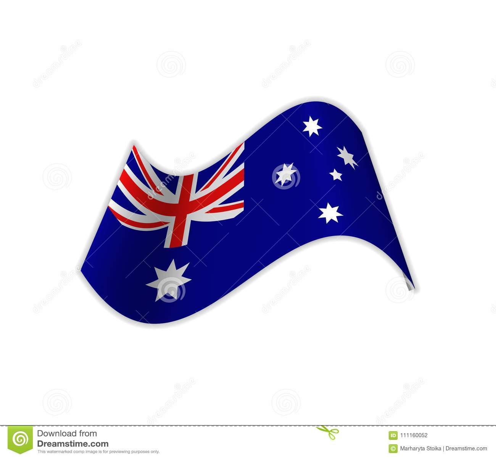 Flaggan av Australien