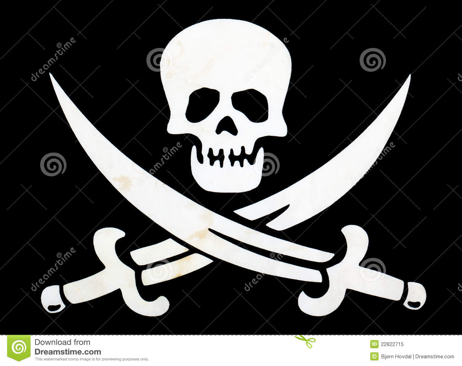 Flaggan piratkopierar