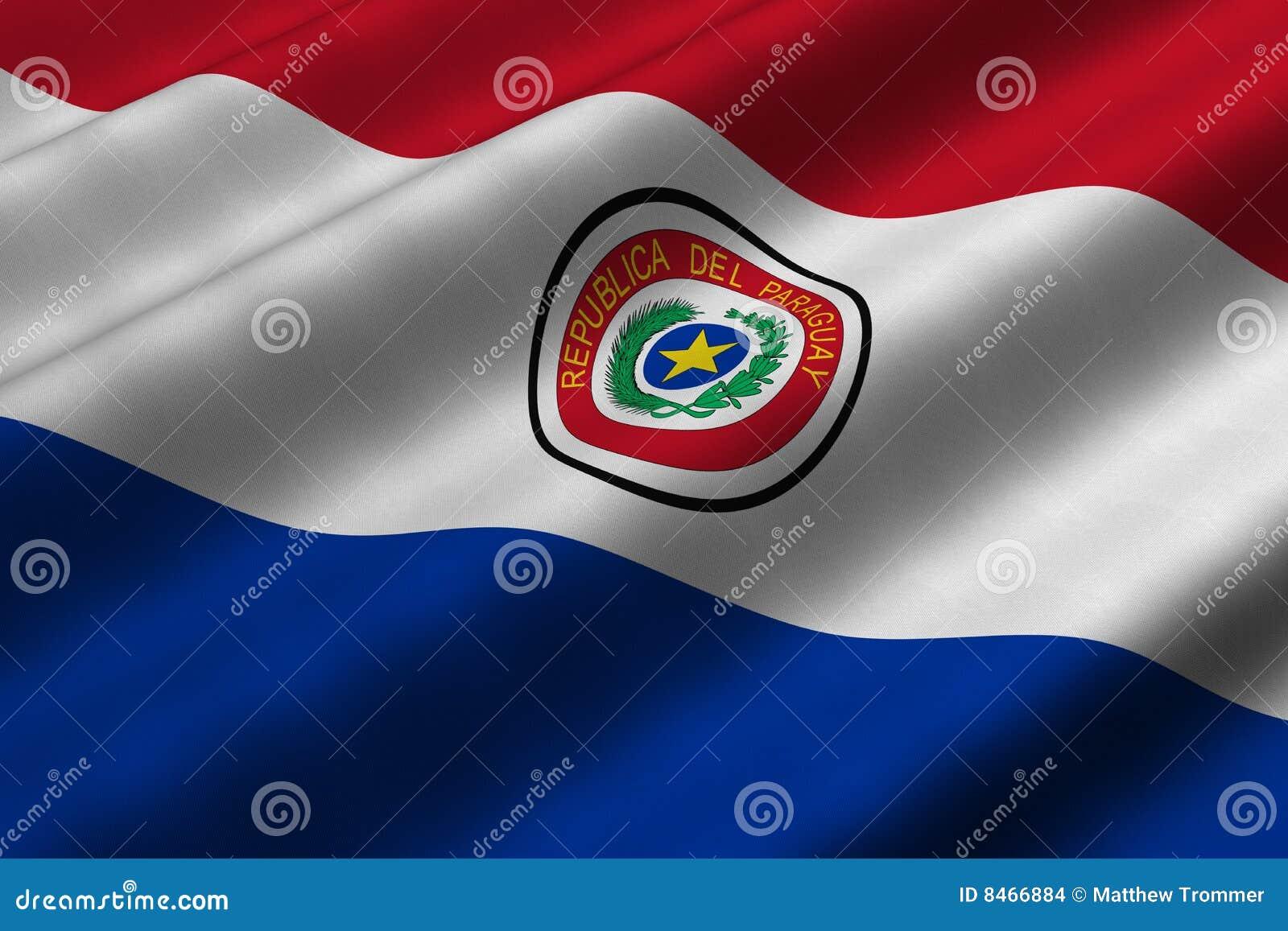 Flaggaparaguayan