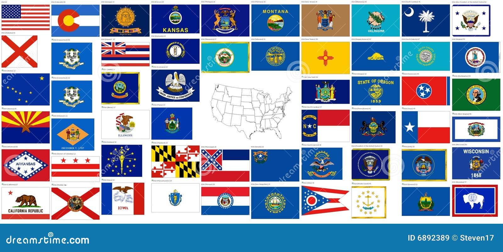 Flaggatillstånd USA
