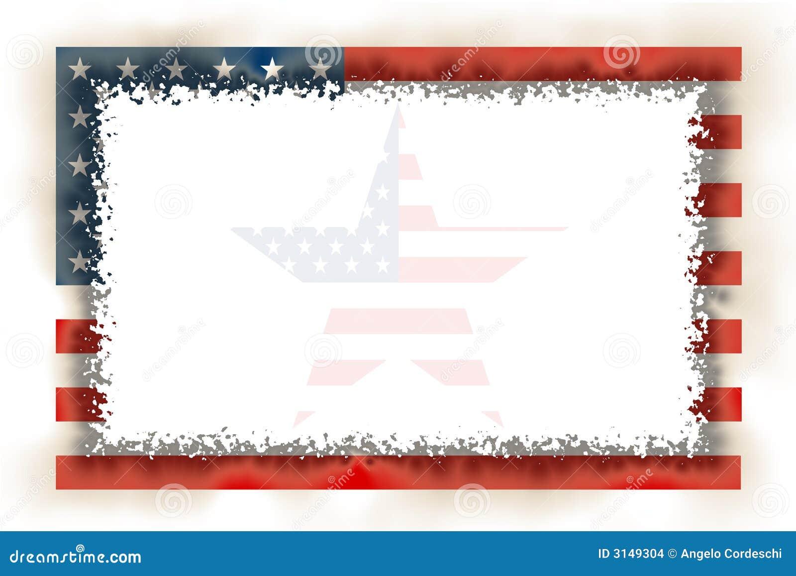 Flagge-Feld gebrannt