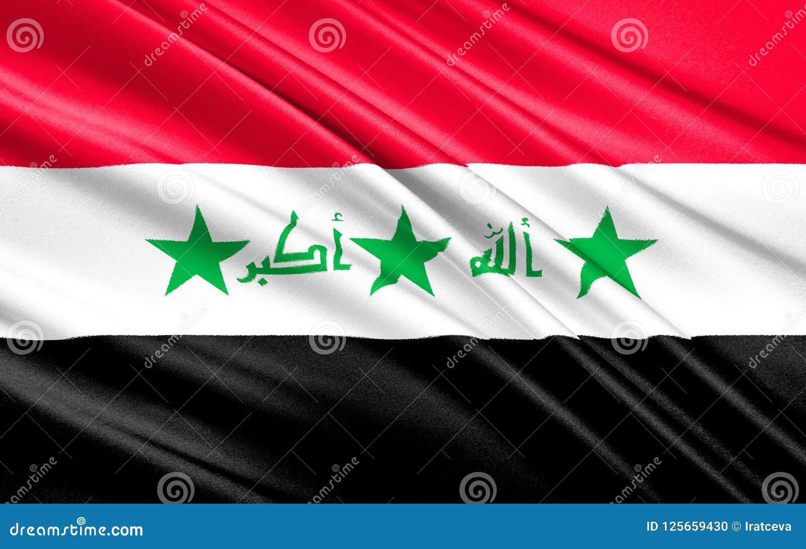 Flagge vom Irak