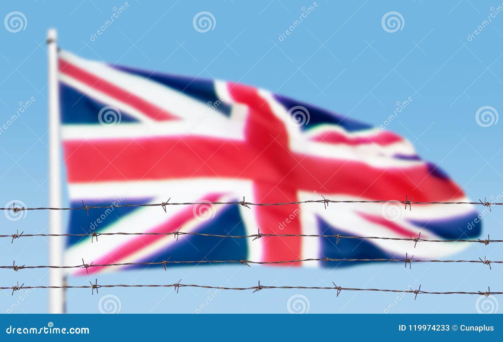 Flagge von Drähten
