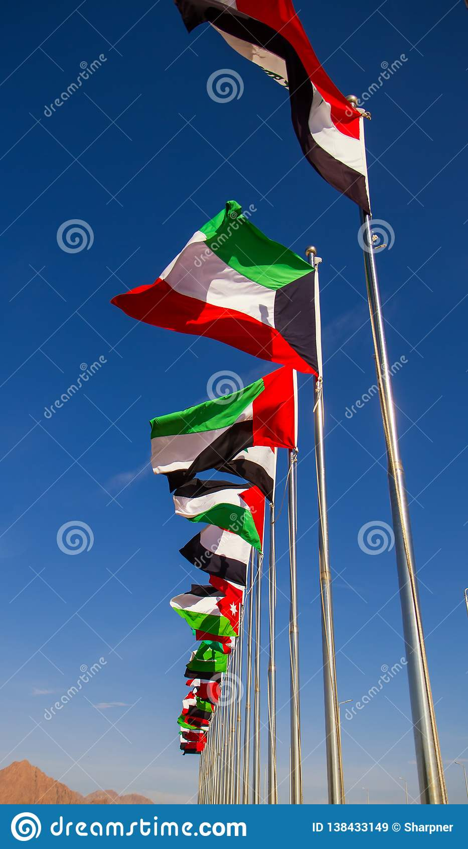 Flaggen der arabischen Liga