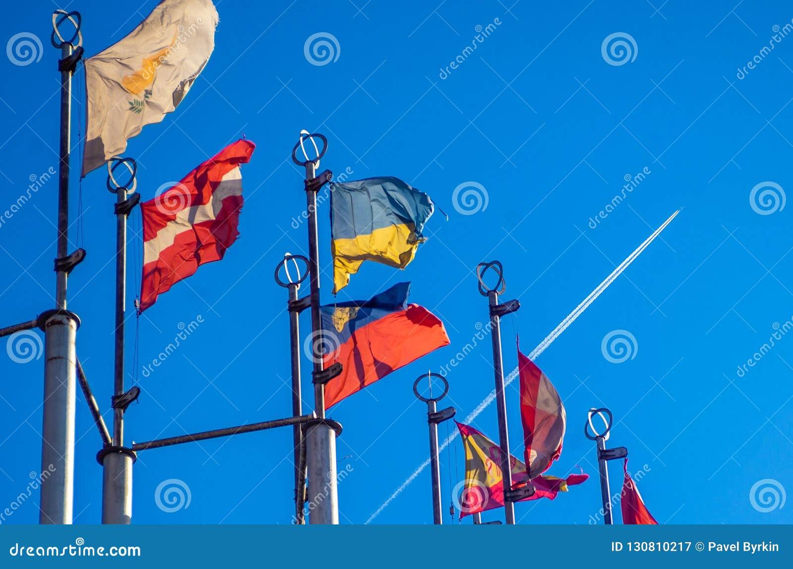 Flaggor av europeiska länder
