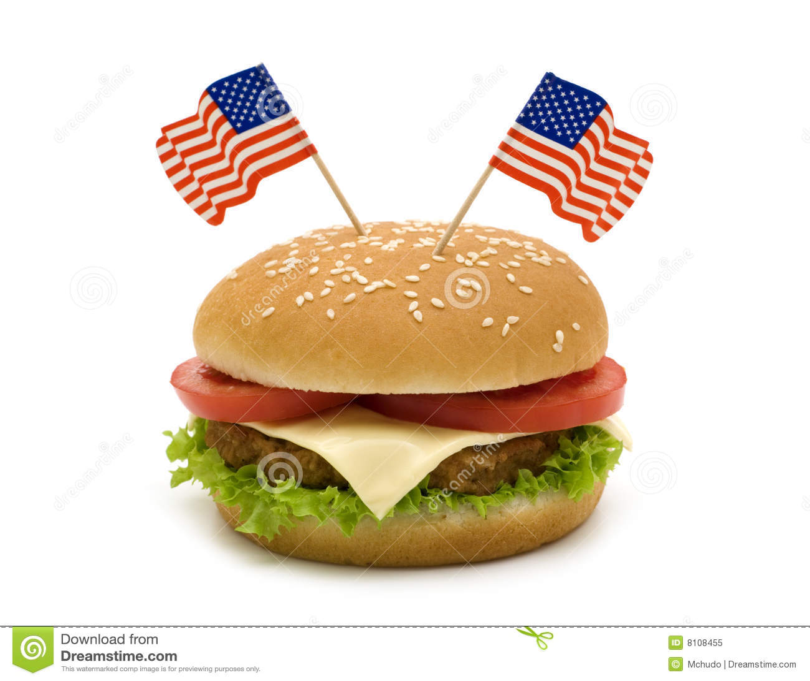 Flags гамбургер 2