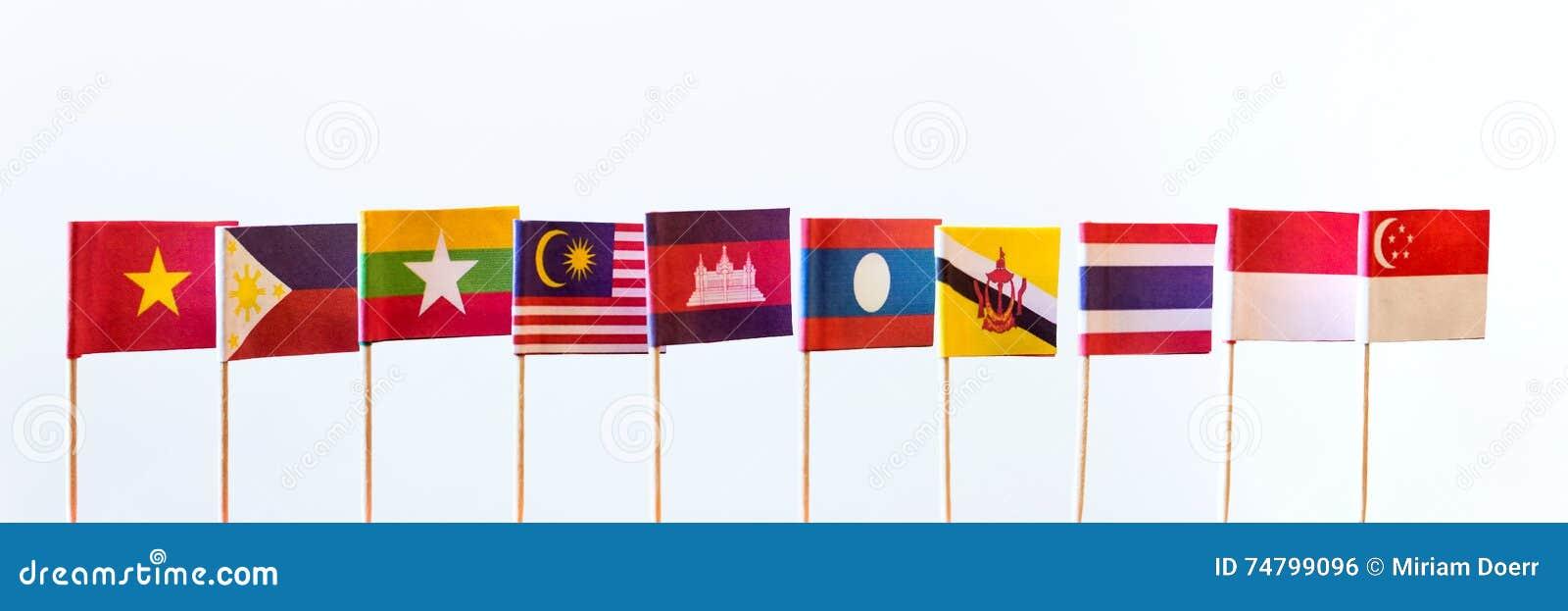 Flags of asean members