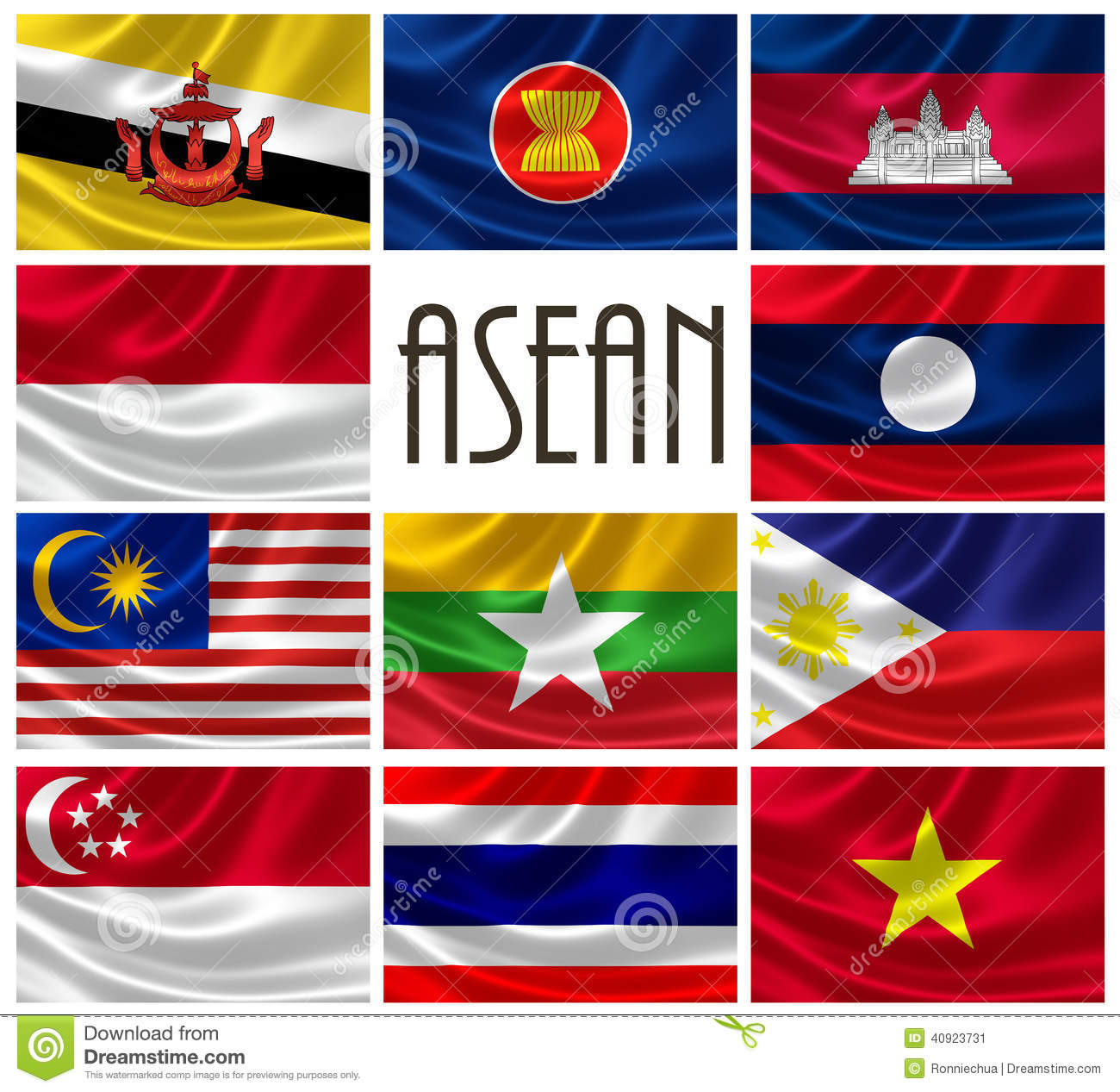 Image result for flags of asean member states