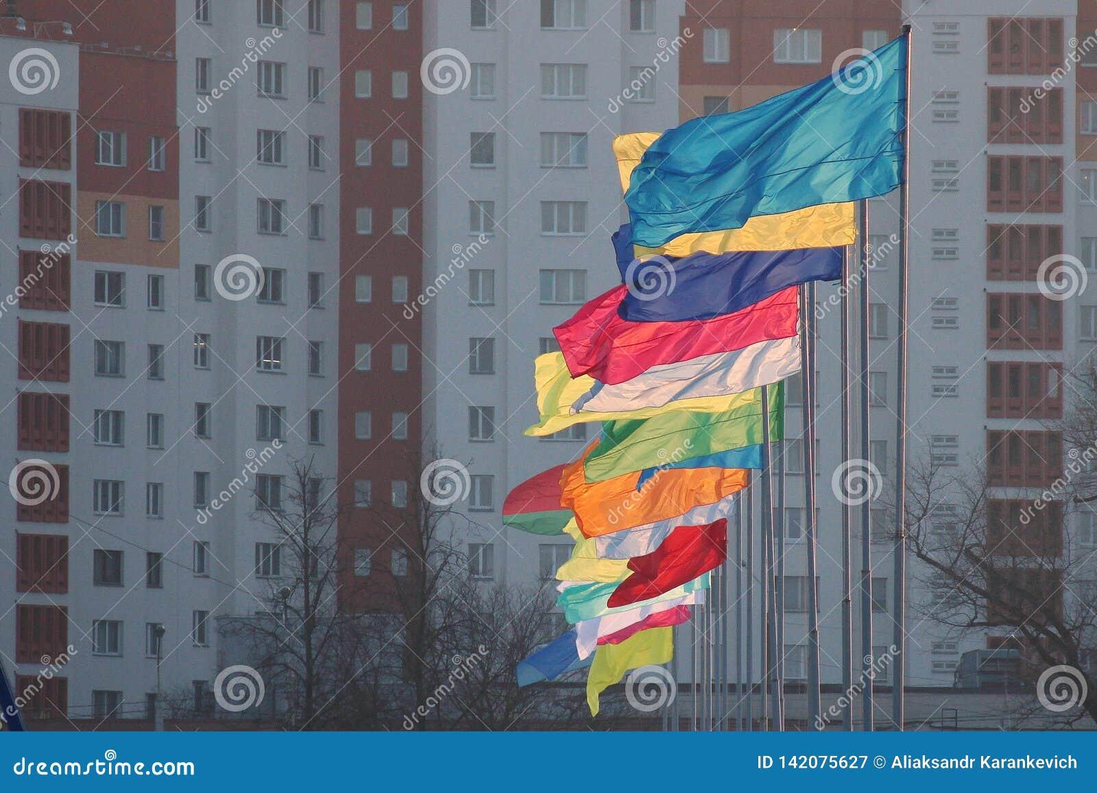 urban flags