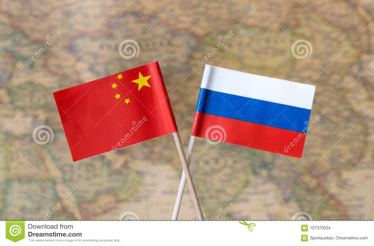Flags of russia and china over the world map political leader download comp gumiabroncs Gallery