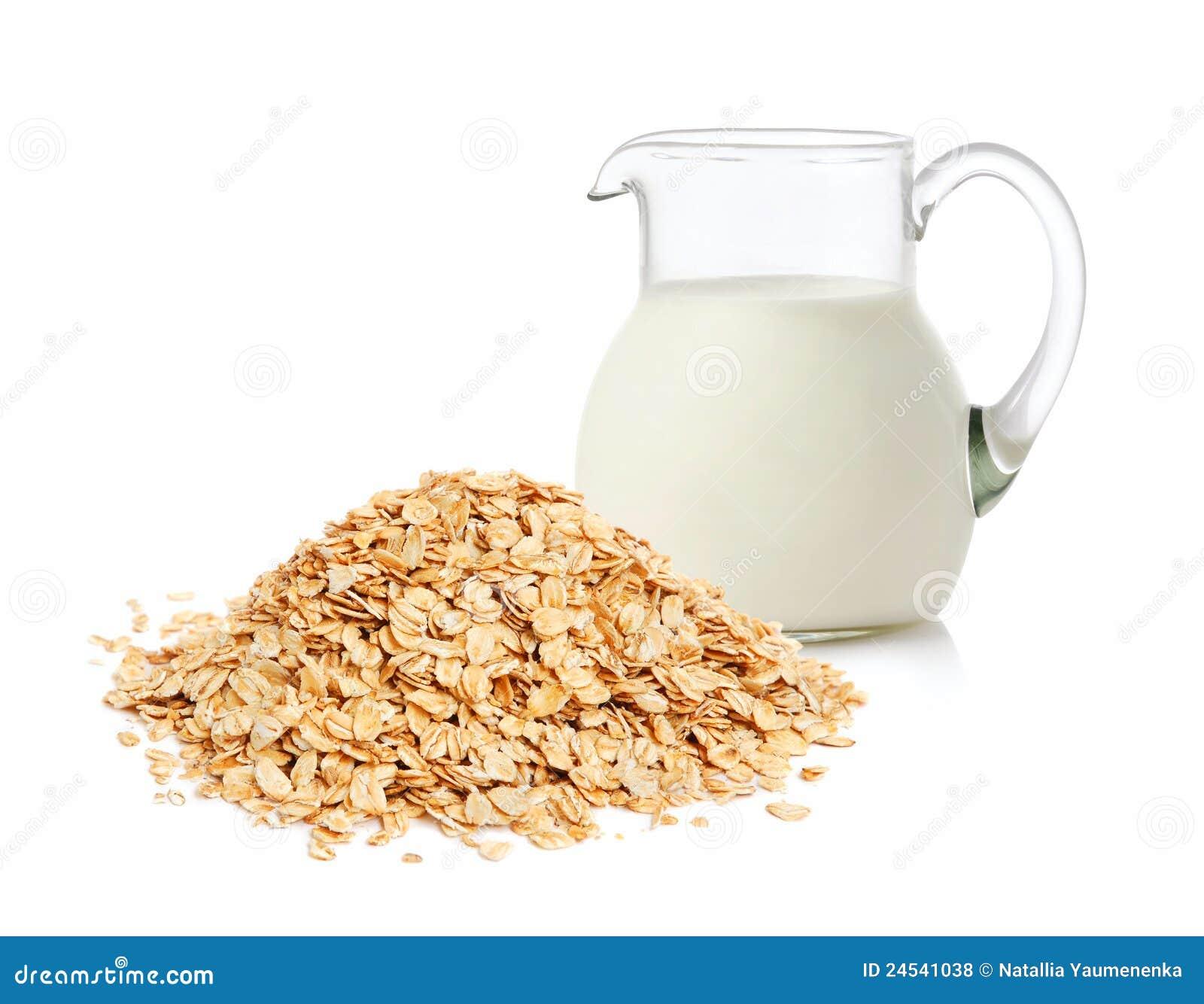 Flakes mjölkar oaten