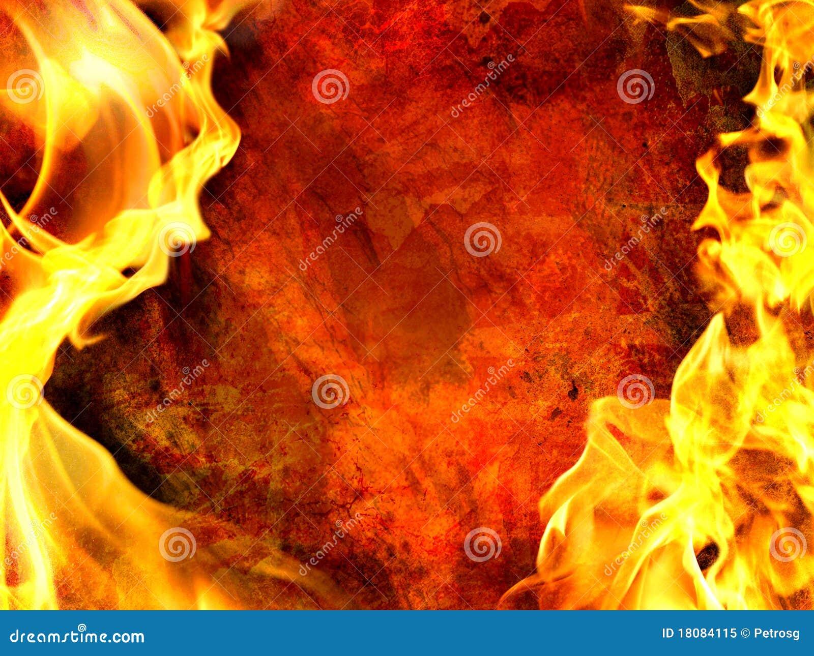 Flama decorativa
