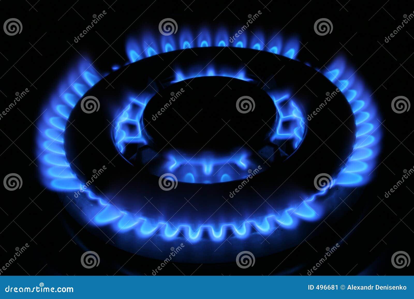 Flama do gás