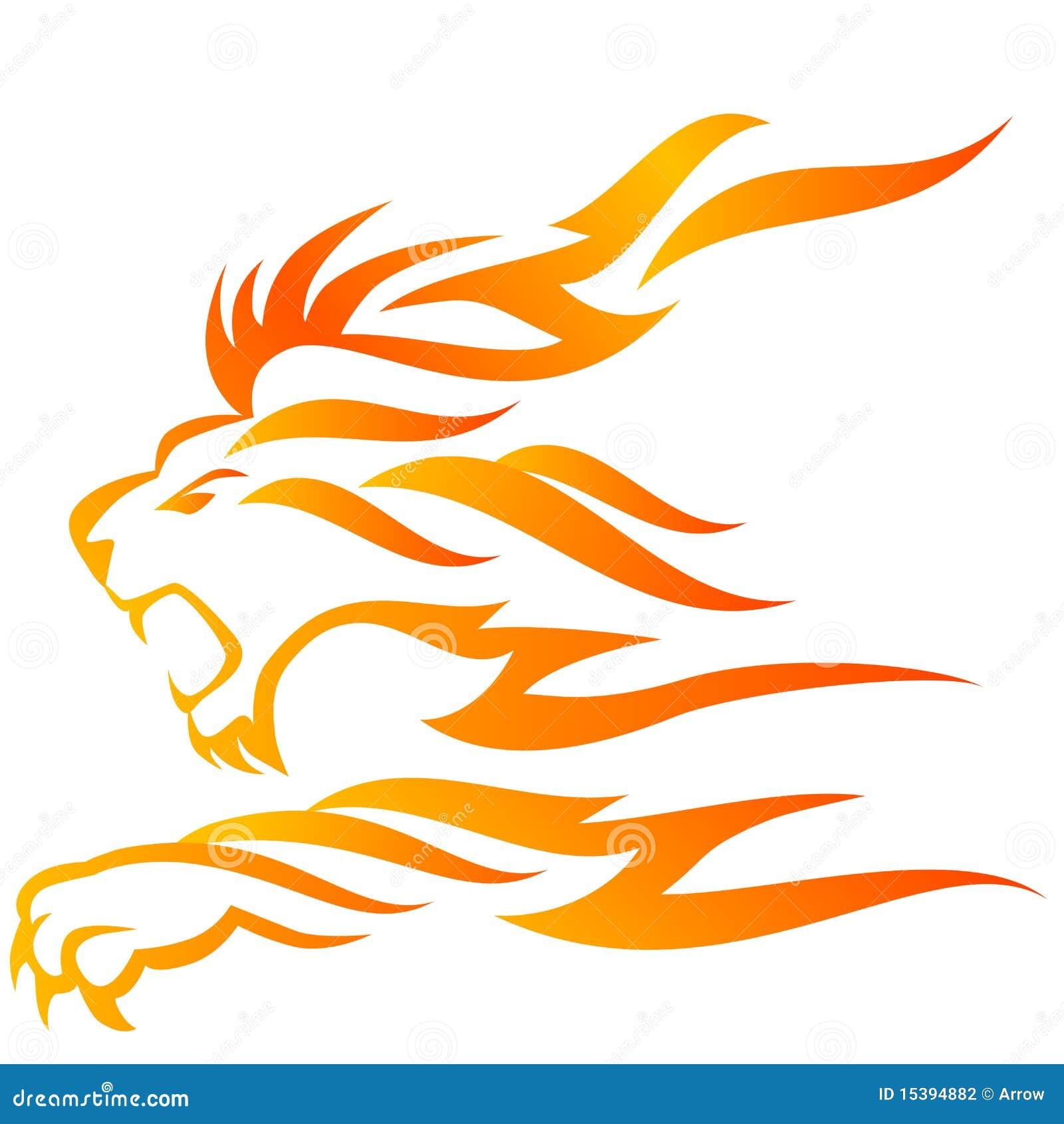 Flama do leão