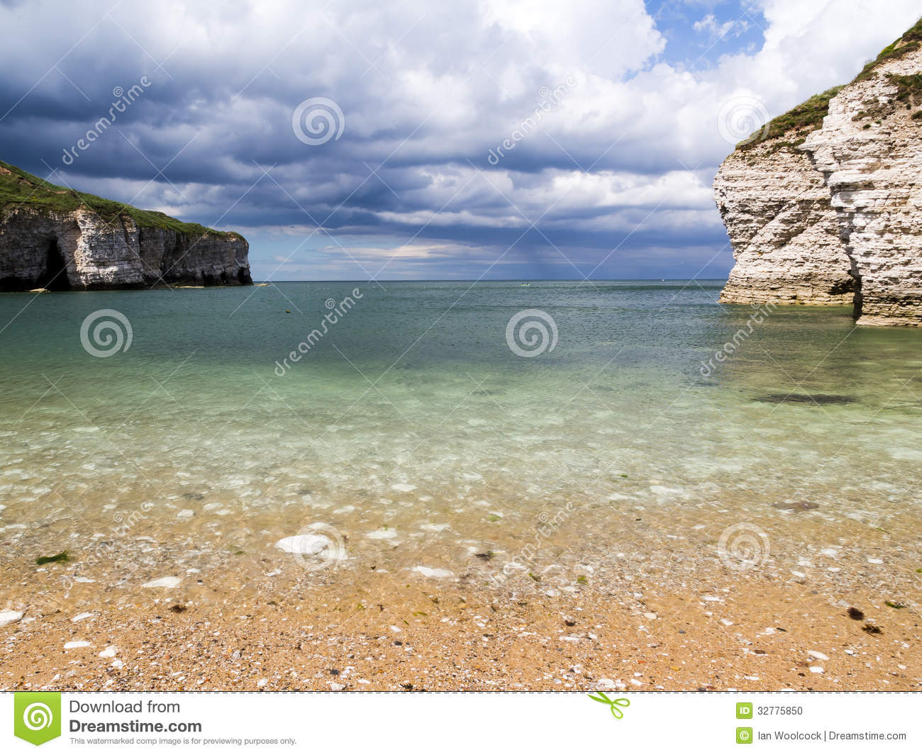 Flamborough North Landing Beach