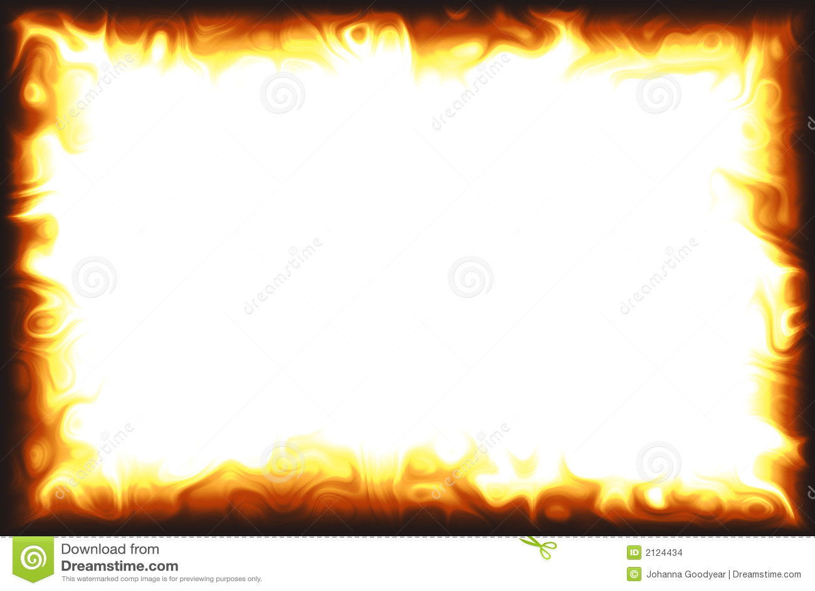 Flame Border stock illustration. Illustration of fire ...
