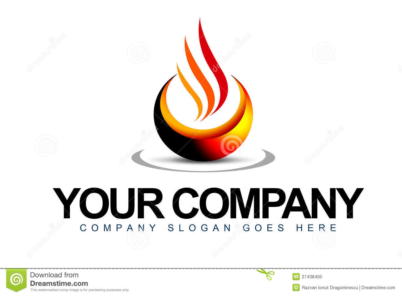 Flame Logo Images Of Letter Naa