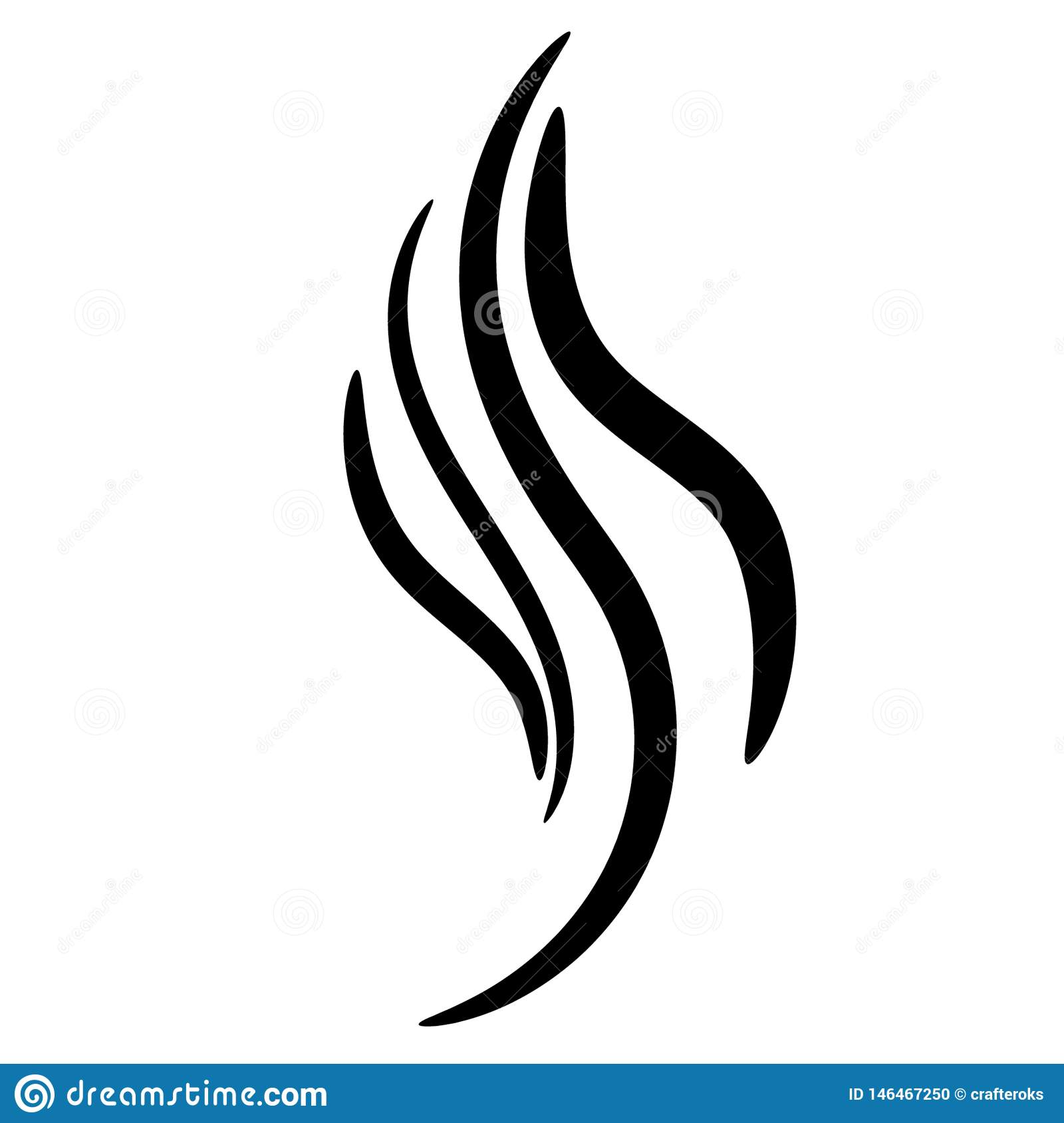 Flame Vector Eps Hand Drawn, Crafteroks, Svg, Free, Free Svg