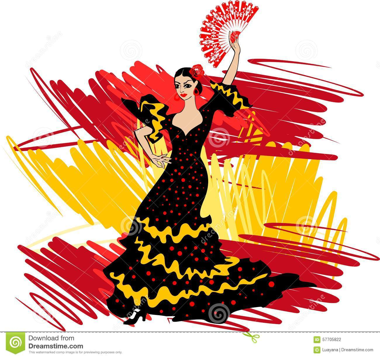 flamenco dancer stock photo image of texture  travel clipart of dancers at a party clipart of ballet dancers