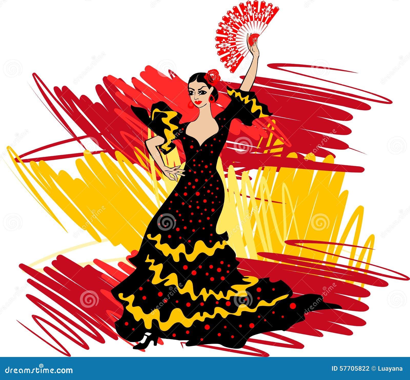 flamenco dancer stock photo image 57705822 dancing clip art pics dancing clip art free