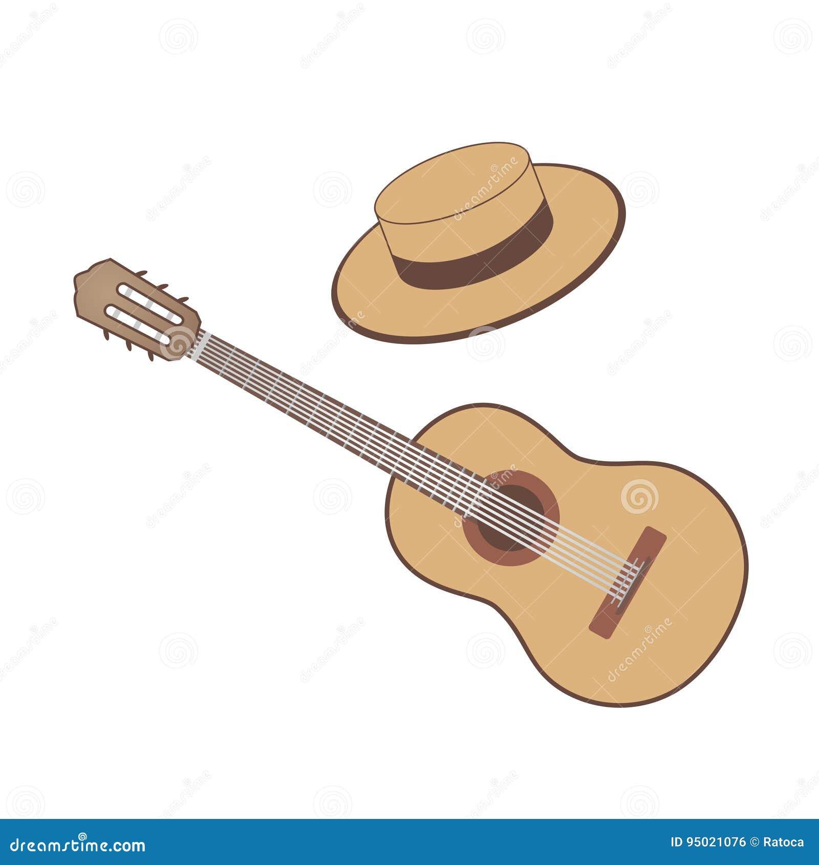 Flamenco Guitar Stock Illustrations 978 Flamenco Guitar Stock