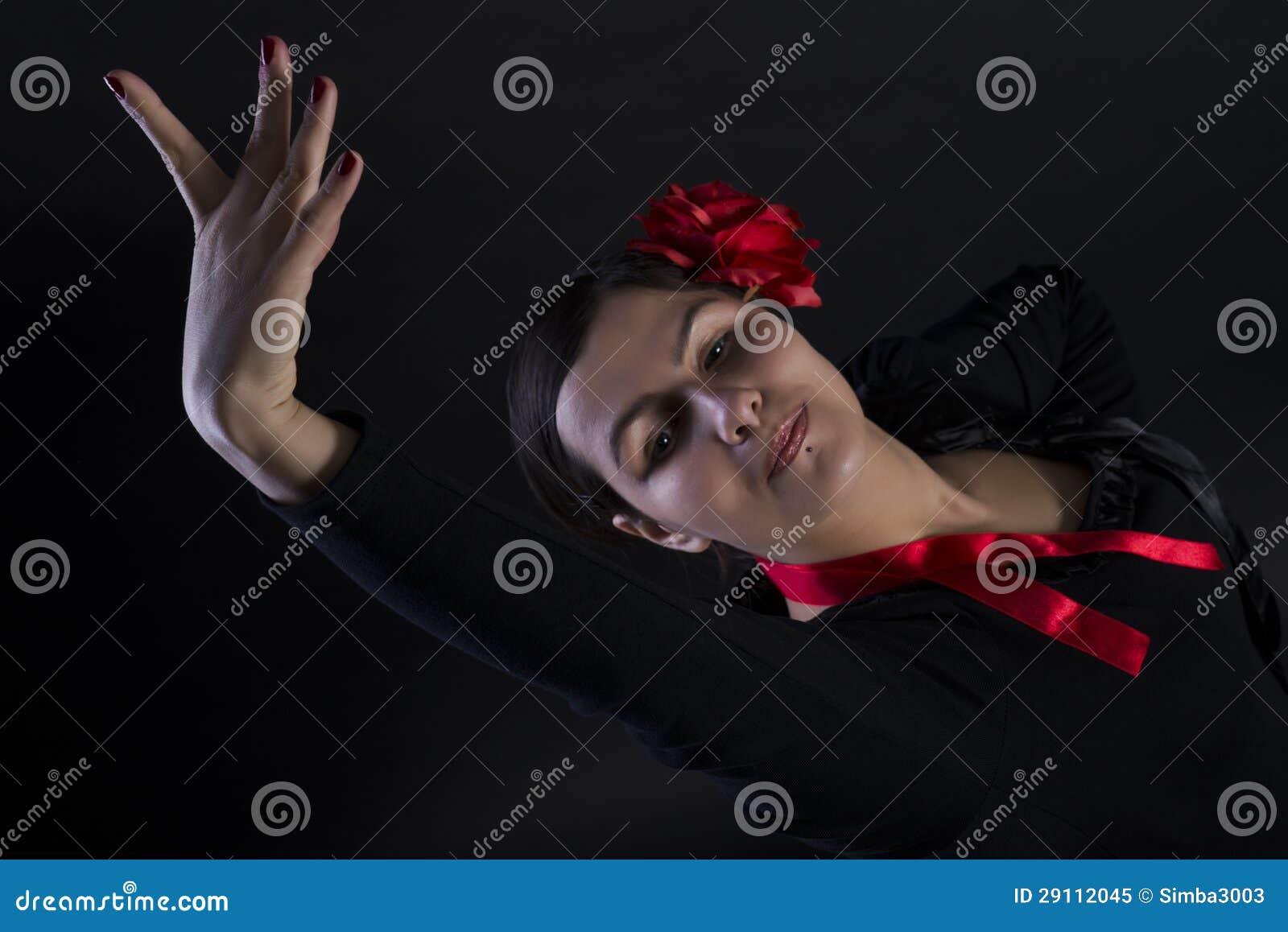 Flamenco taniec