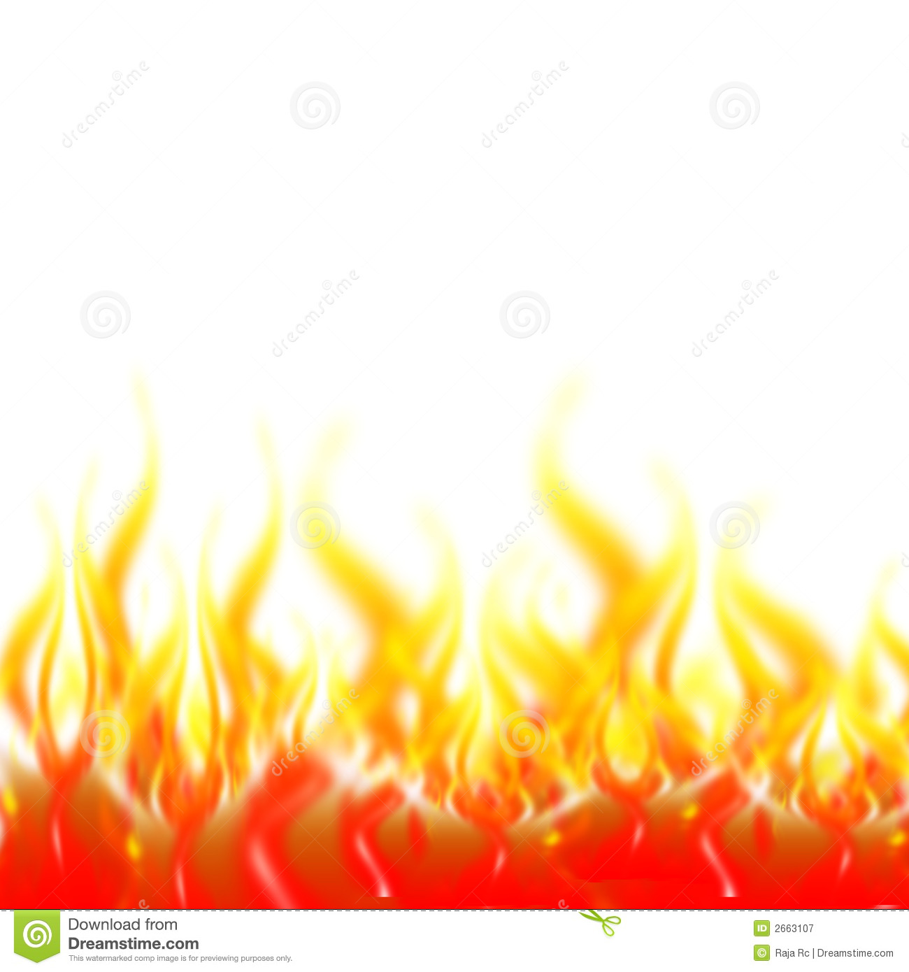 Flames Royalty Free Stock Photography - Image: 2663107