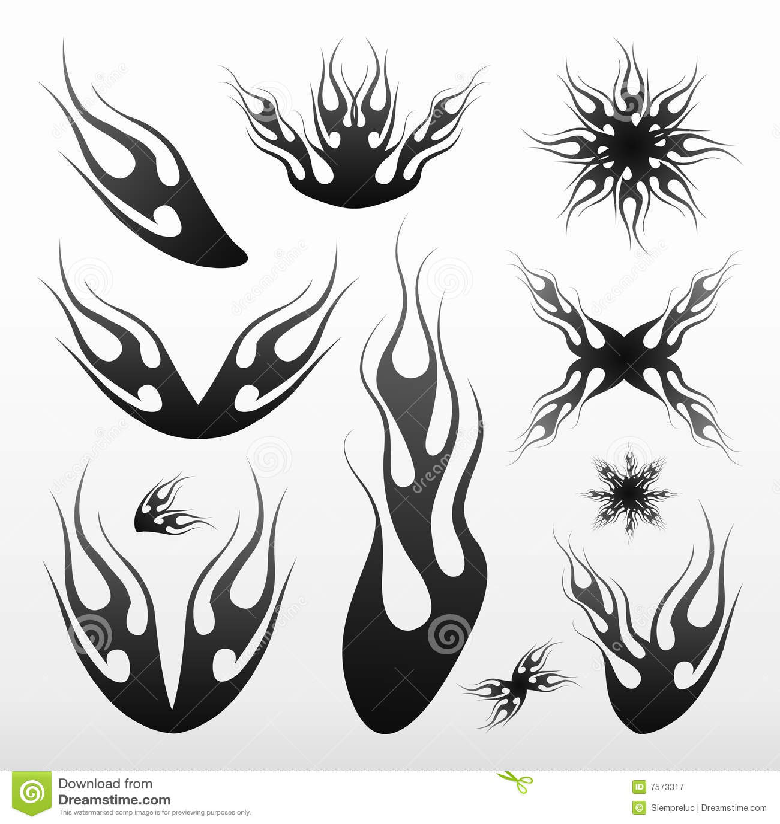 Tribal-Tattoos flames-tribal-tatoo-7573317