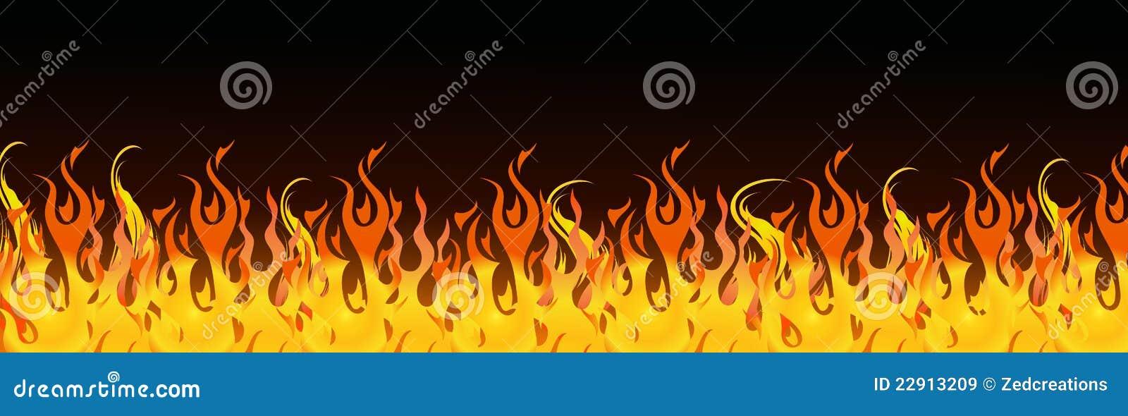 Flames web header