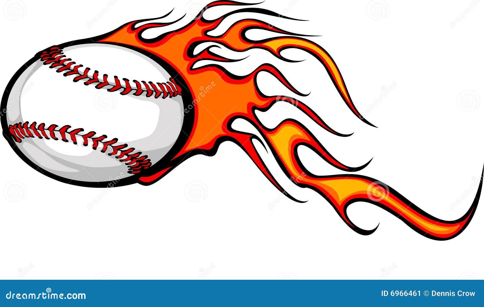flaming baseball ball stock vector illustration of futbol 6966461 rh dreamstime com Flaming Baseball Clip Art flaming baseball logo quiz