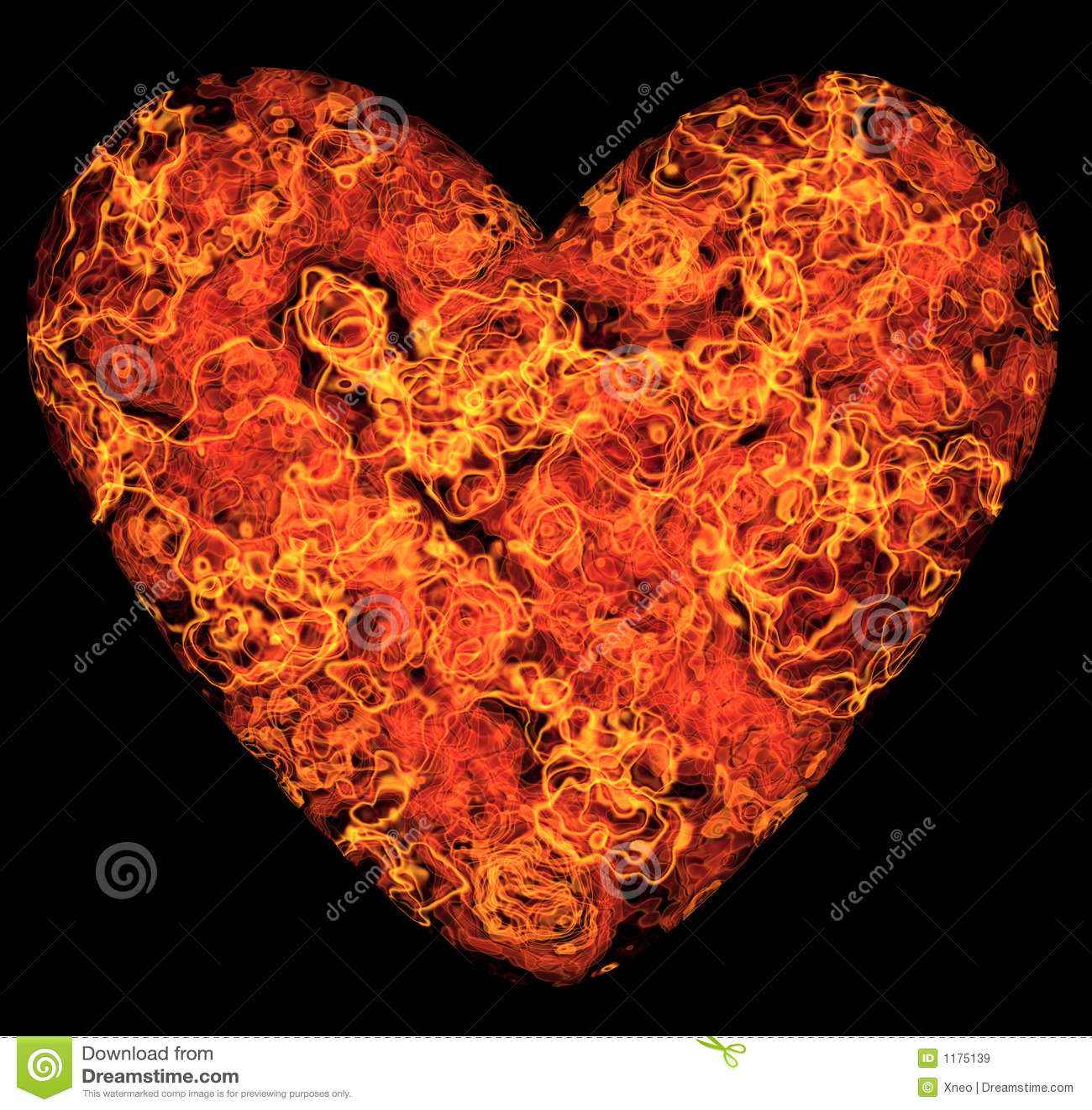 59f2b1c1038d Flaming Heart stock illustration. Illustration of magic - 1175139