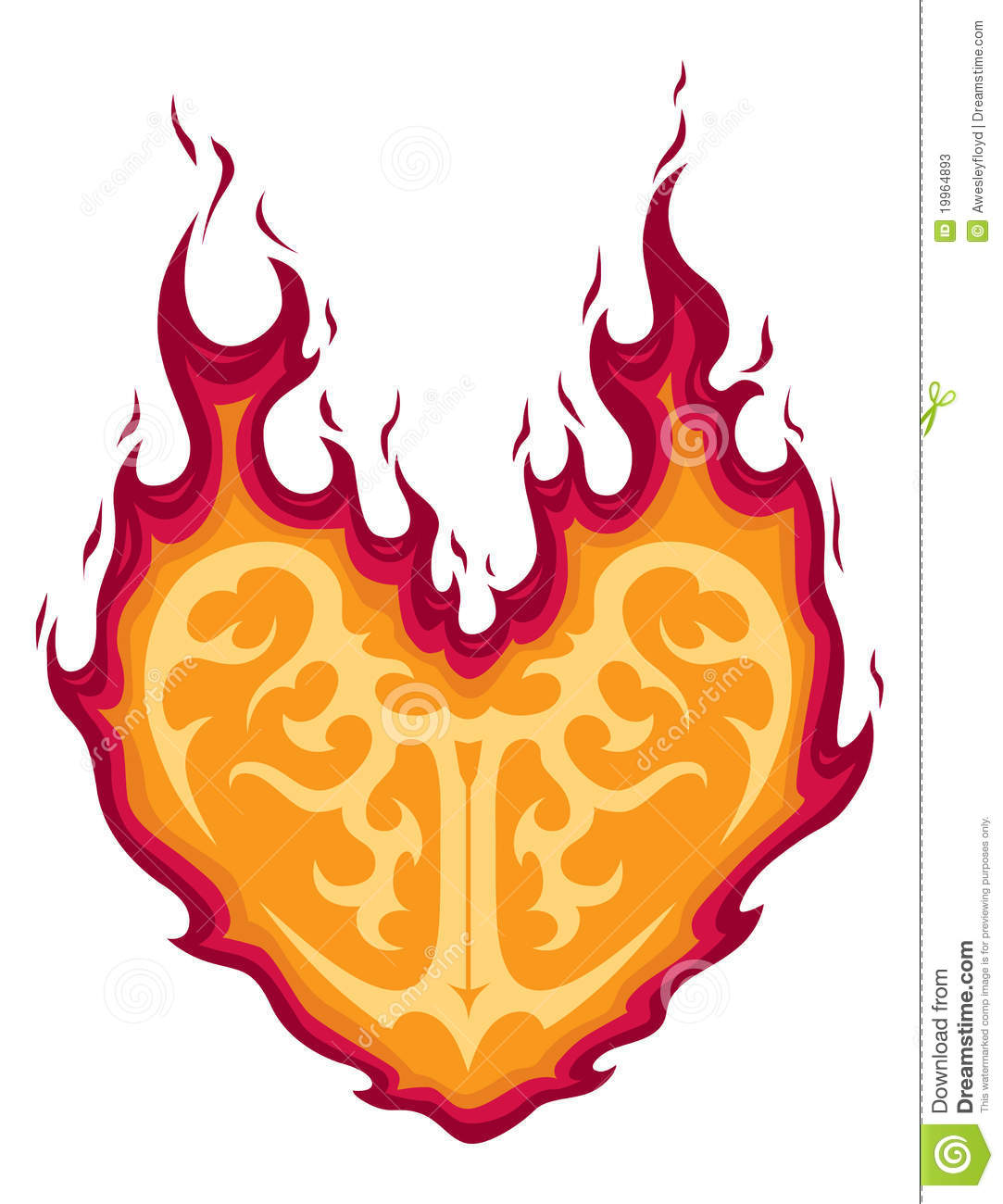 flaming heart tattoo pictures to pin on pinterest tattooskid. Black Bedroom Furniture Sets. Home Design Ideas
