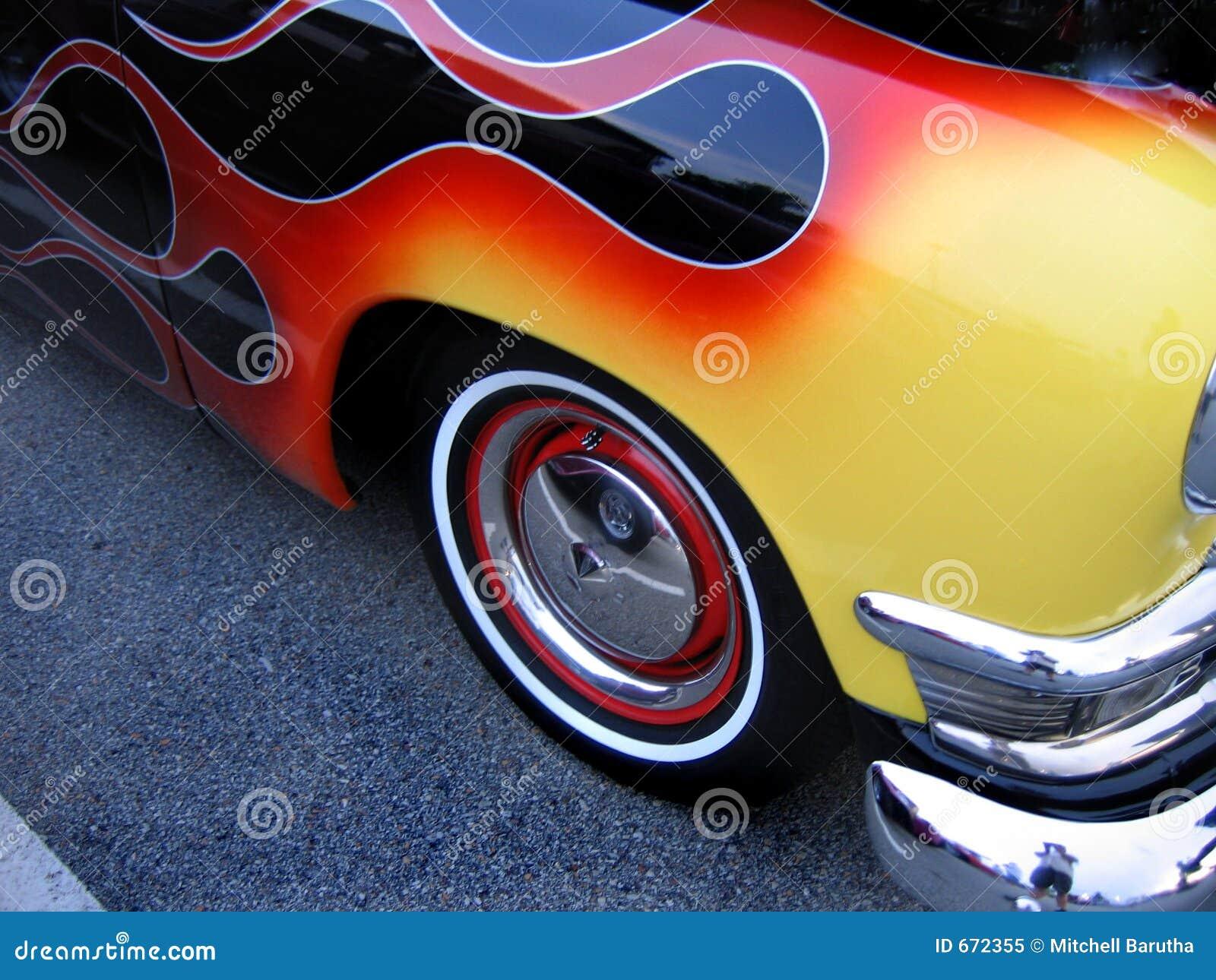 Hot Rod Flames Stock Images - 294 Photos