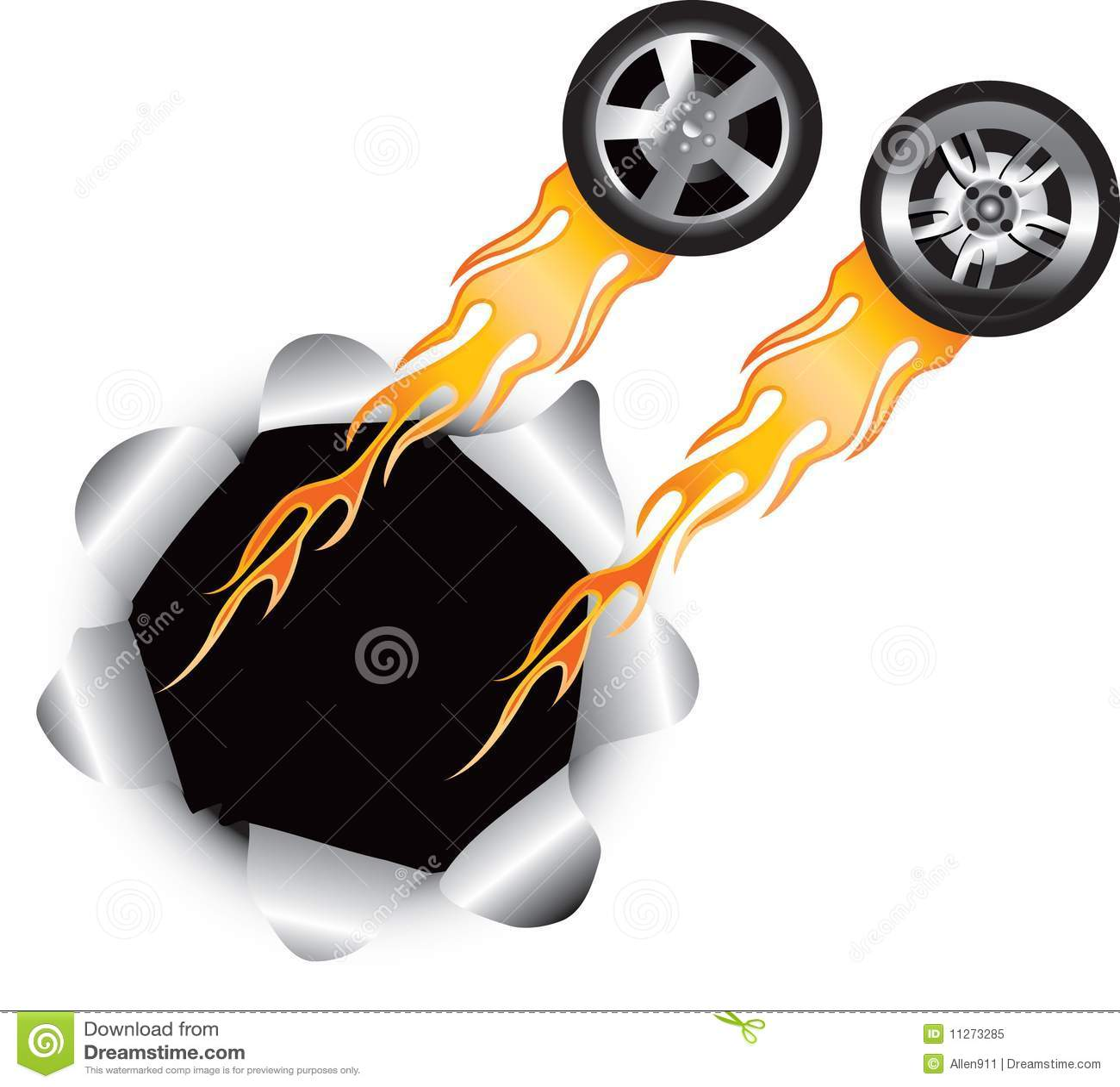 Burning Tires As Renewable Energy? | Atlas Bear |Flamming Tire