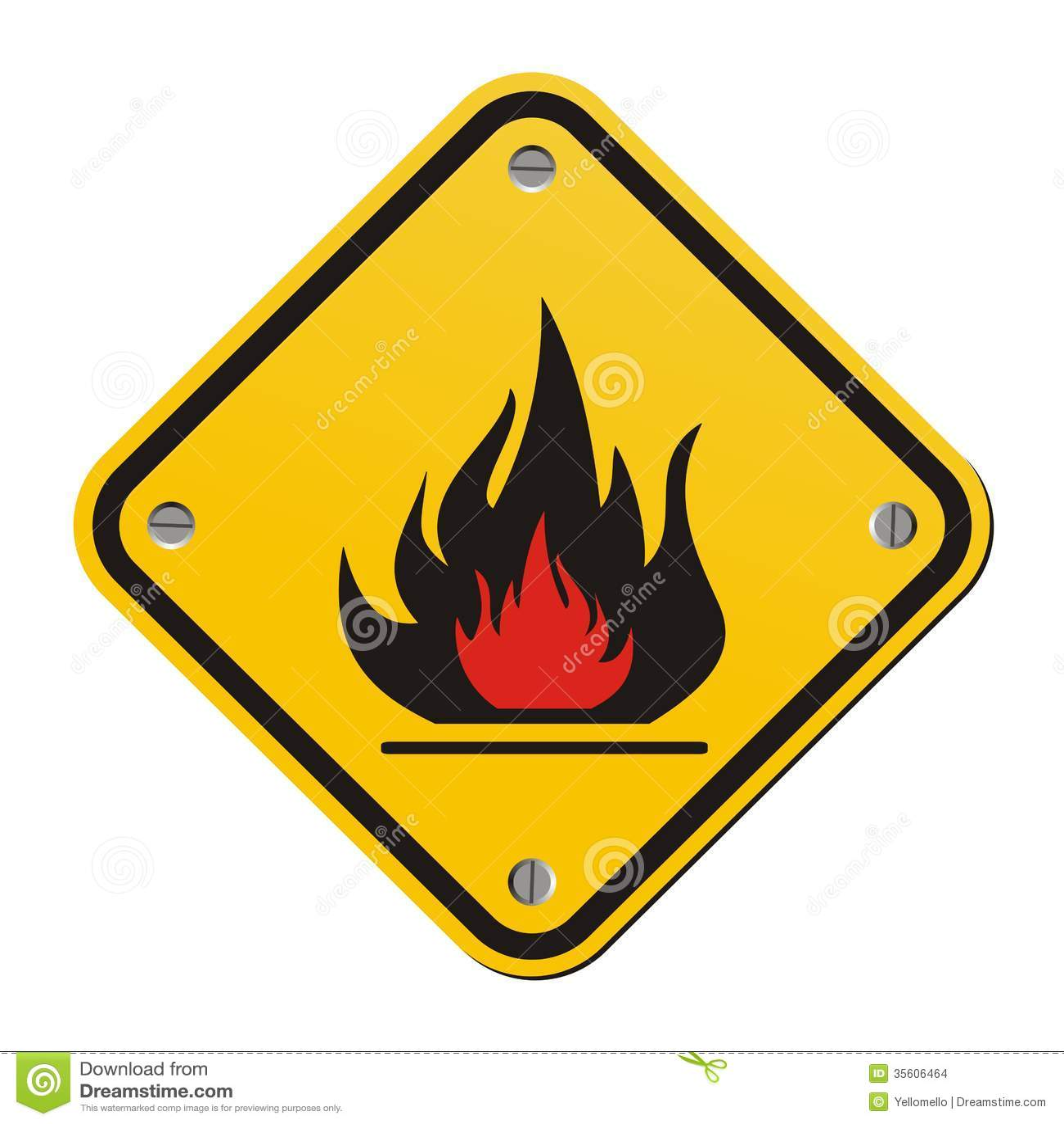 Flammable warning sign stock illustration illustration of flame flammable warning sign buycottarizona