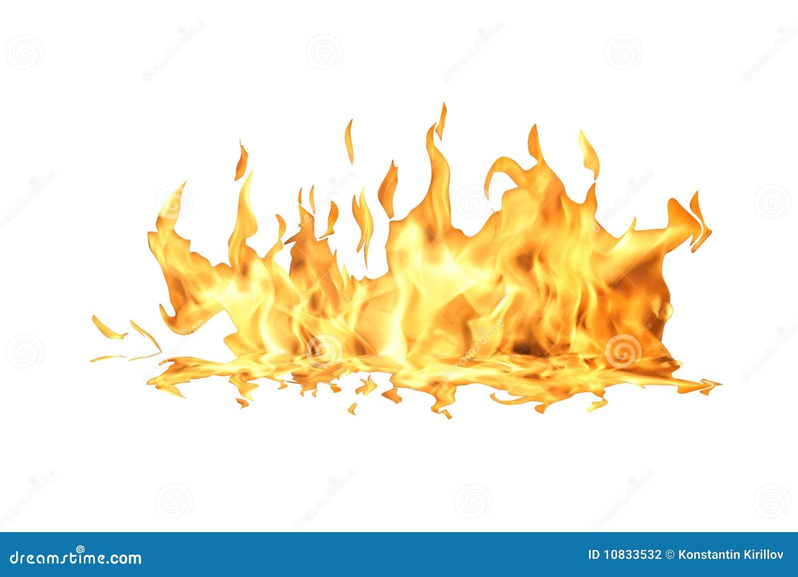 flamme d 39 incendie sur le blanc photo stock image du. Black Bedroom Furniture Sets. Home Design Ideas