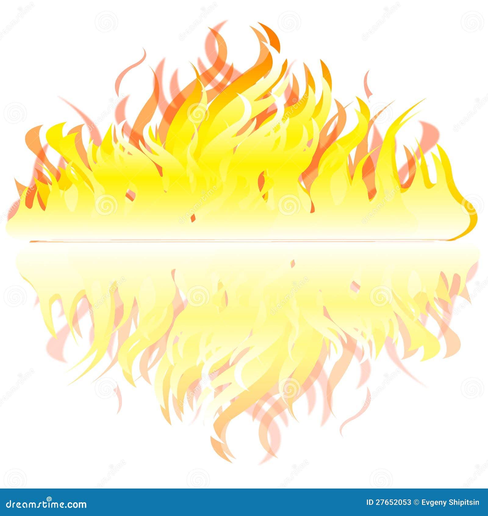 flamme sur le fond blanc illustration de vecteur. Black Bedroom Furniture Sets. Home Design Ideas