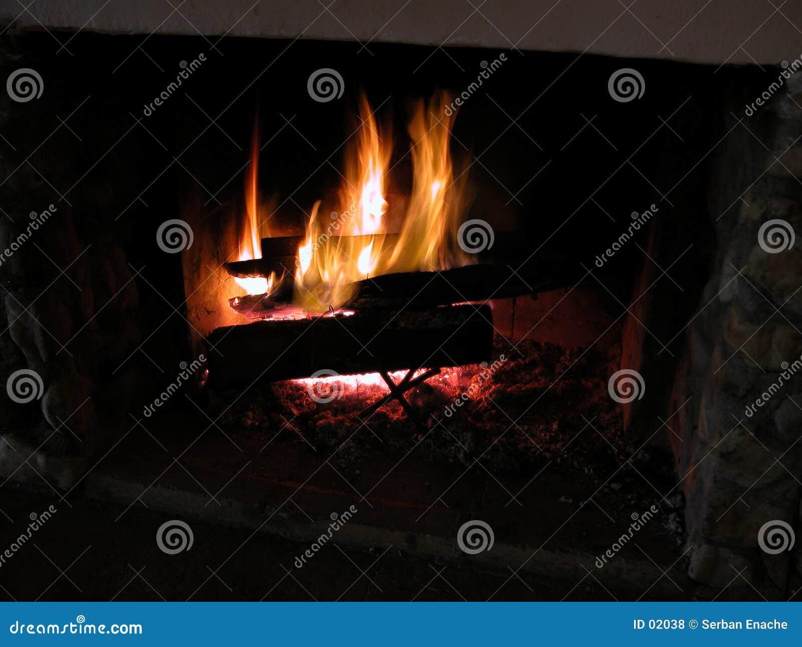 Flammor för 1 burning