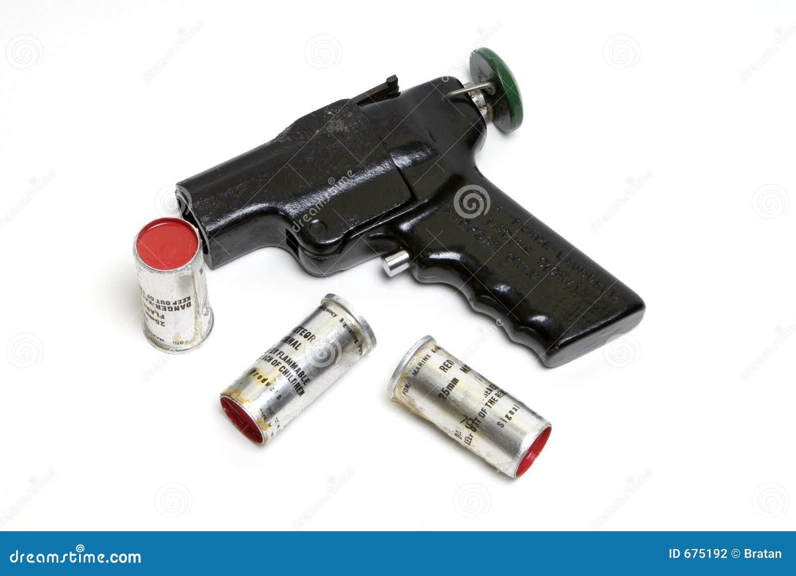 Flary wyrzutnię amunicji