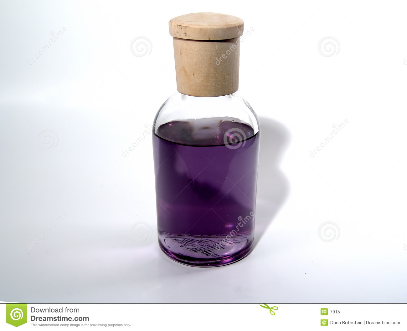 Flasche wenn Duft