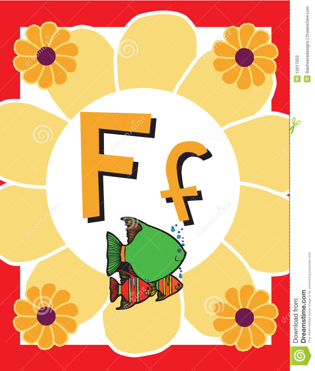 letter f flashcard flash card letter f nouns stock photos image 10017053 505
