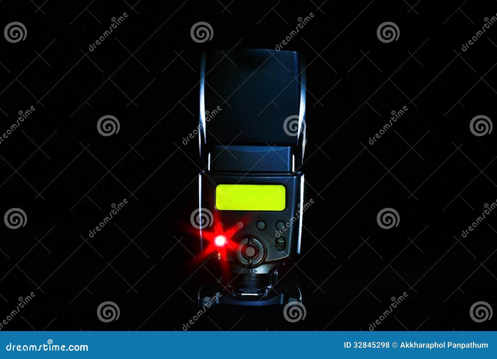 Flash de la cámara digital