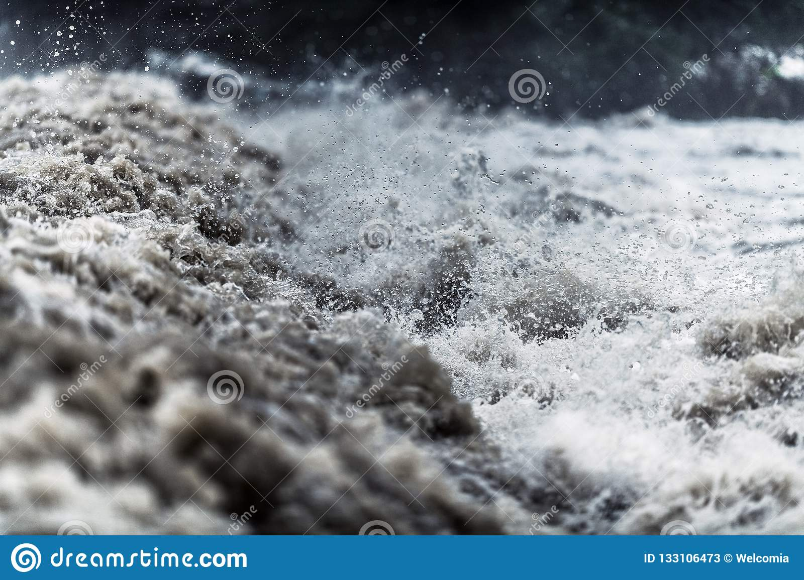 Flash Flood Water